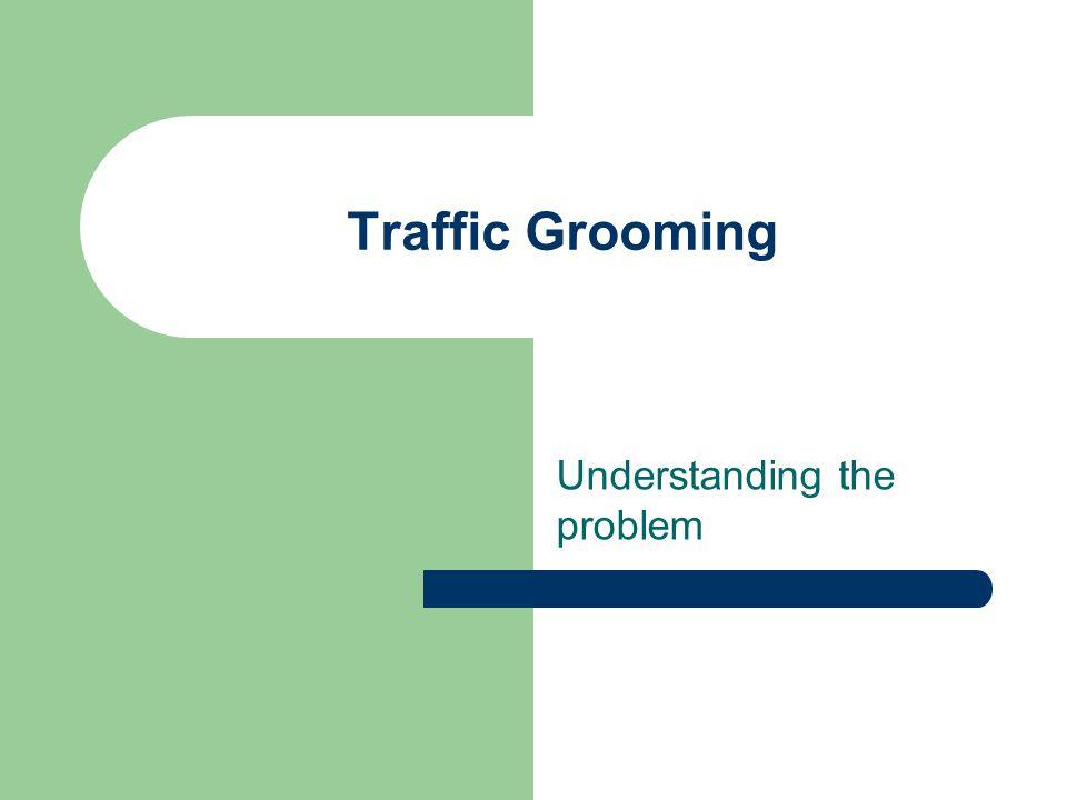 Traffic Grooming Understanding the problem