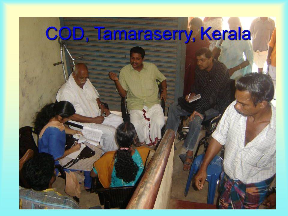 COD, Tamaraserry, Kerala