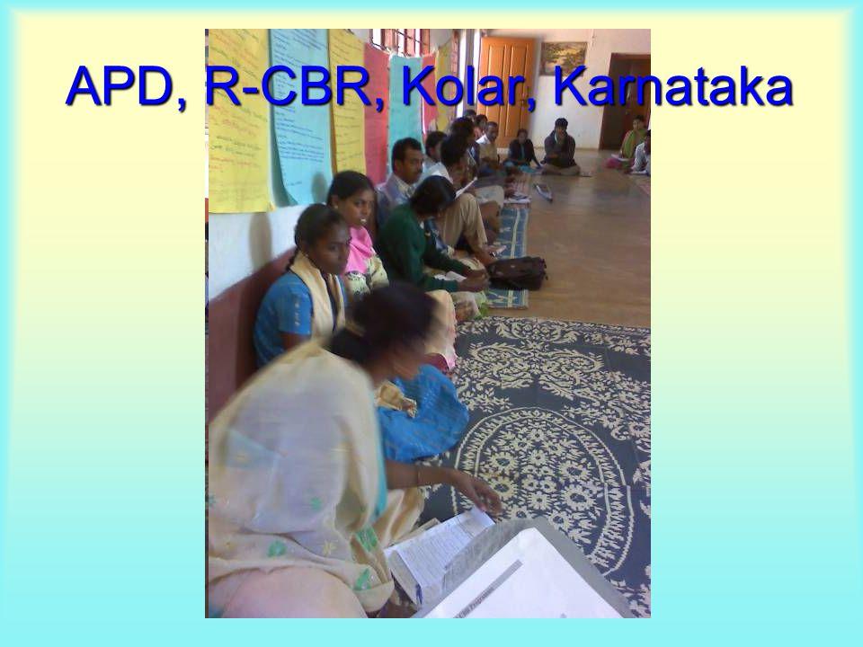 APD, R-CBR, Kolar, Karnataka