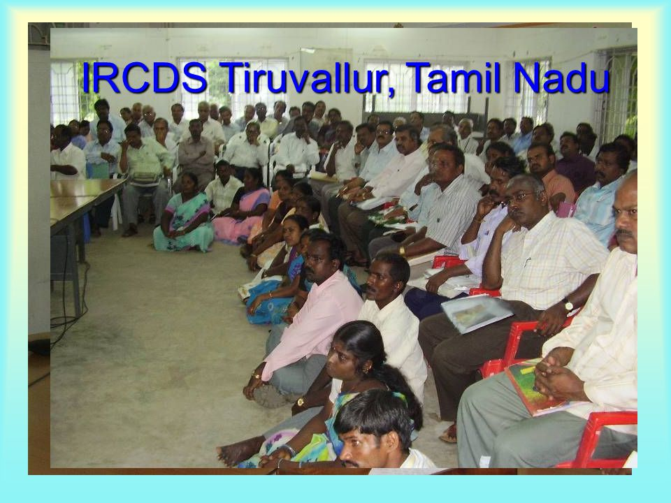 IRCDS Tiruvallur, Tamil Nadu