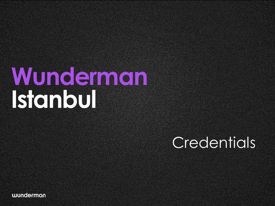 What We Do Wunderman Istanbul provides full digital marketing services for clients:  Creative digital campaigns  Strategic planning  Digital medium design & integration  Social media management  Performance marketing (Analytics, Optimization, Search, Monetization)