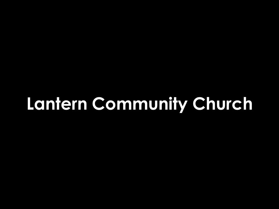 Lantern Community Church