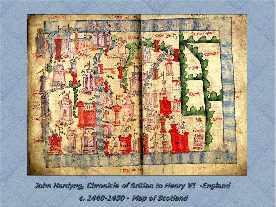 John Hardyng, Chronicle of Britian to Henry VI -England c.