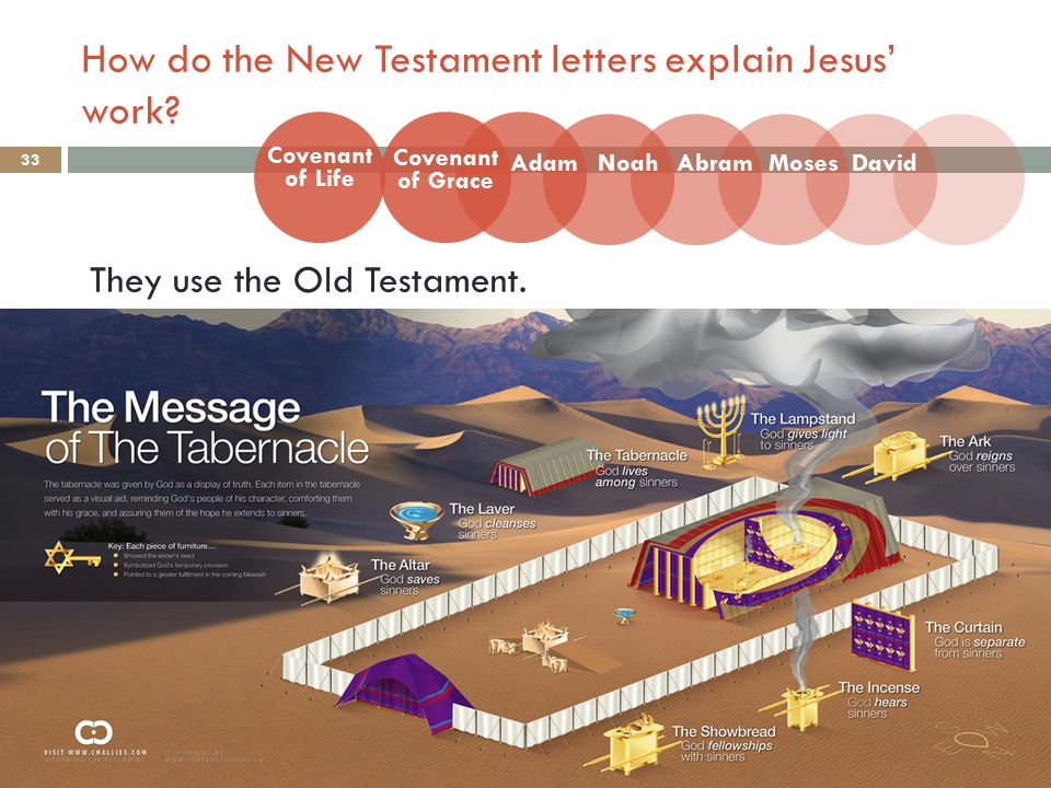 How do the New Testament letters explain Jesus' work.