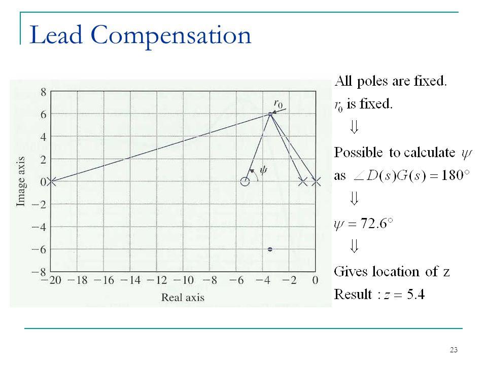 23 Lead Compensation