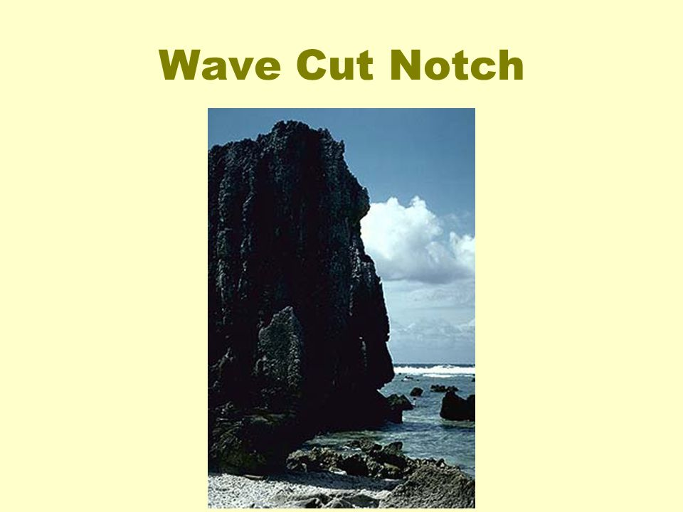 Wave Cut Notch