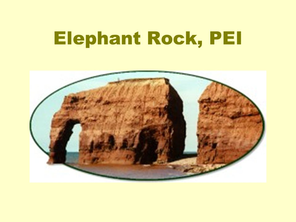 Elephant Rock, PEI
