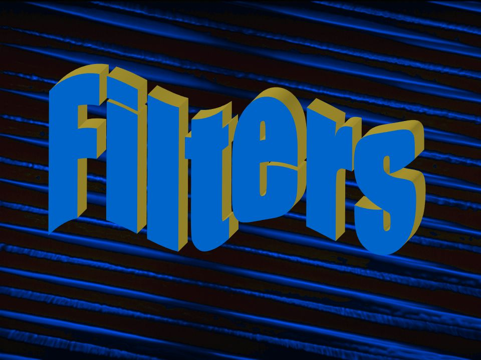 FilteringFiltering Filtering is another name for subtractive synthesis because it subtracts frequencies from a soundFiltering is another name for subtractive synthesis because it subtracts frequencies from a sound Filtering is the opposite approach of additive synthesis:Filtering is the opposite approach of additive synthesis: Additive synthesis builds a complex sound out of sine waves.Additive synthesis builds a complex sound out of sine waves.