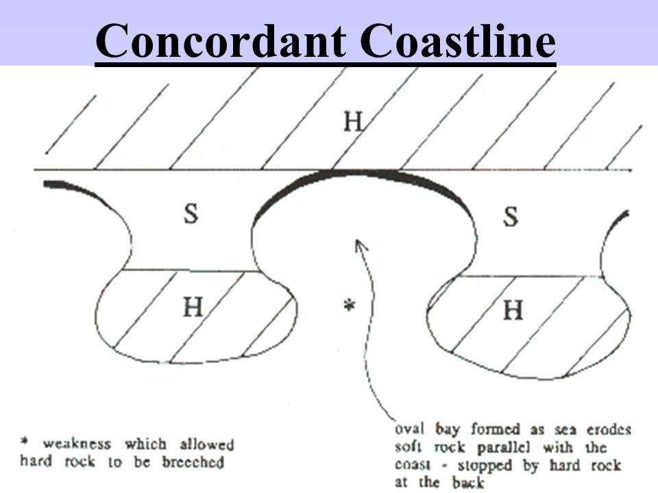 Concordant Coastline