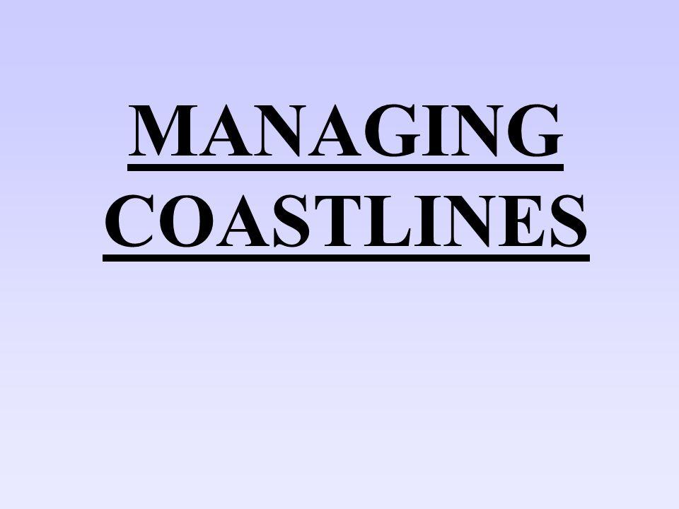MANAGING COASTLINES