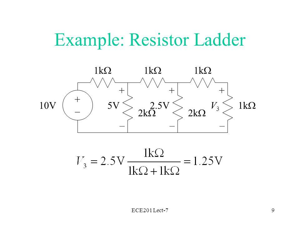 ECE201 Lect-720 Compute Impedances >> omega = 377 omega = 377 >> xl = j*omega*70.4e-3 xl = 0 +26.5408i >> xc = 1/(j*omega*100e-6) xc = 0 -26.5252i