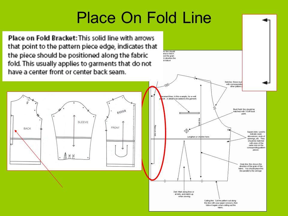 Place On Fold Line