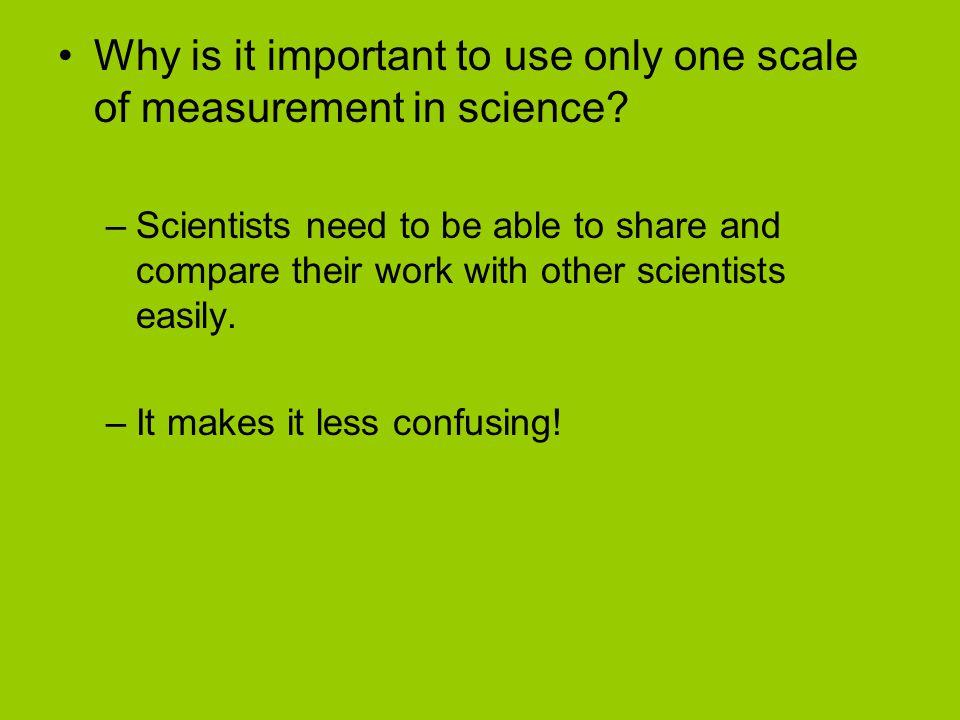 Length Basic unit of measure = meter What would you measure in meters.