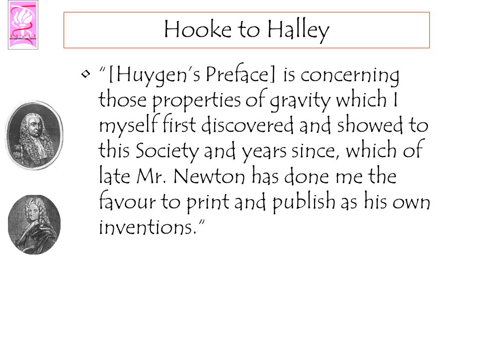 Newton to Halley Now is this not very fine.