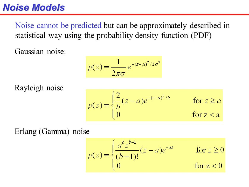 Constrained Least Squares Filter:Adjusting  (cont.) For computing