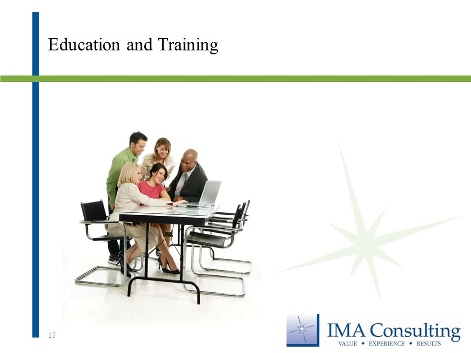 Education and Training 15