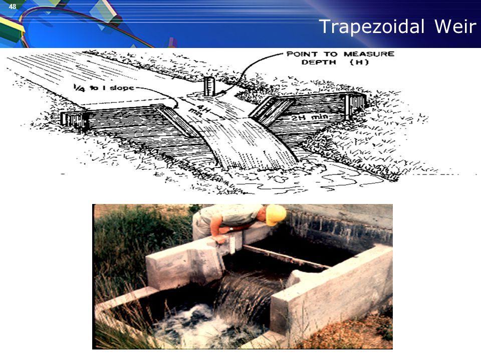 48 Trapezoidal Weir