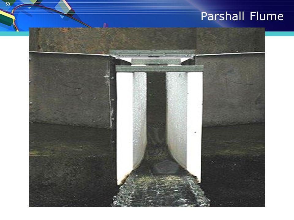 59 Parshall Flume