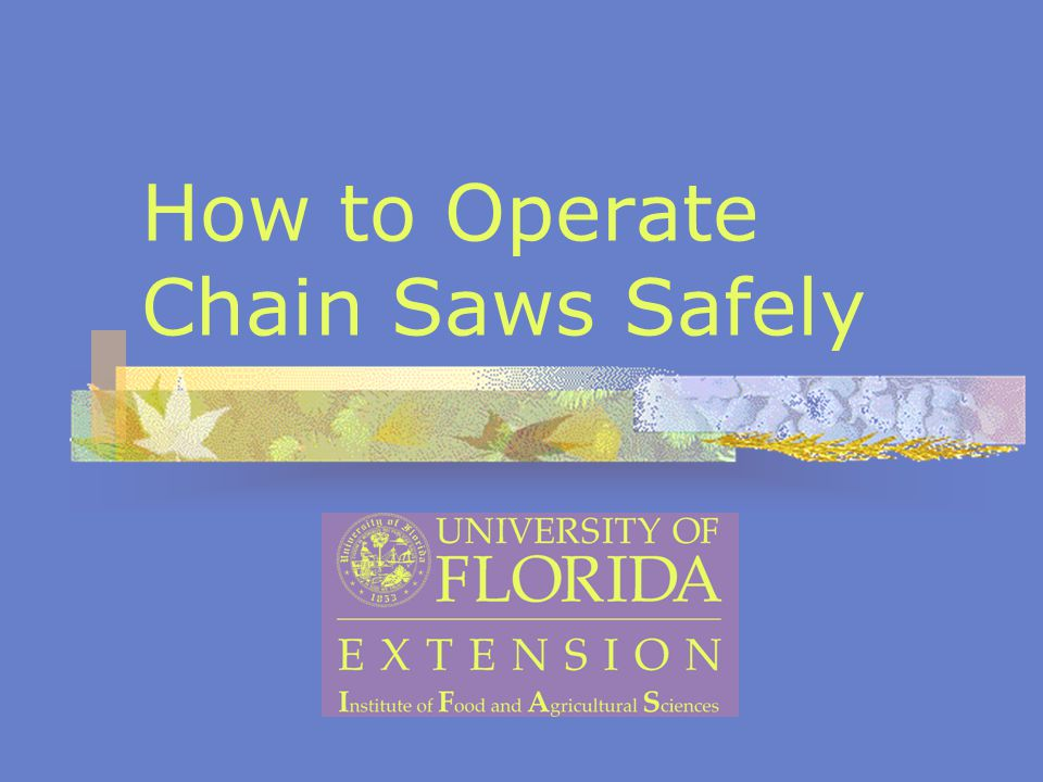 Chain Saw Statistics More than 40,000 people are injured by chain saws each year.