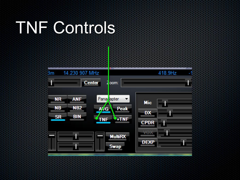 TNF Controls