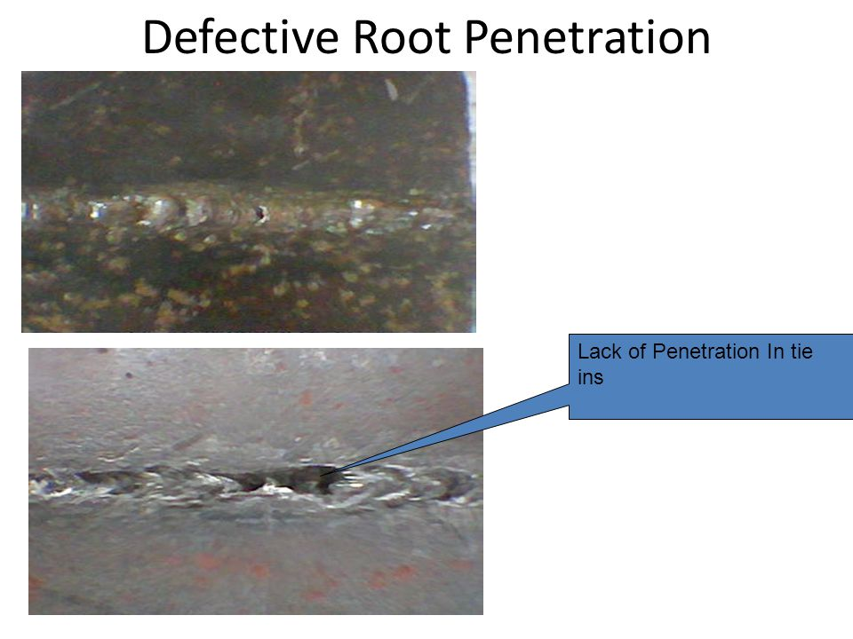 "Keyhole = root gap + 1/16"" on both sides is the recommended size. Burn Through / Melt through Defective Root Penetration keyhole"