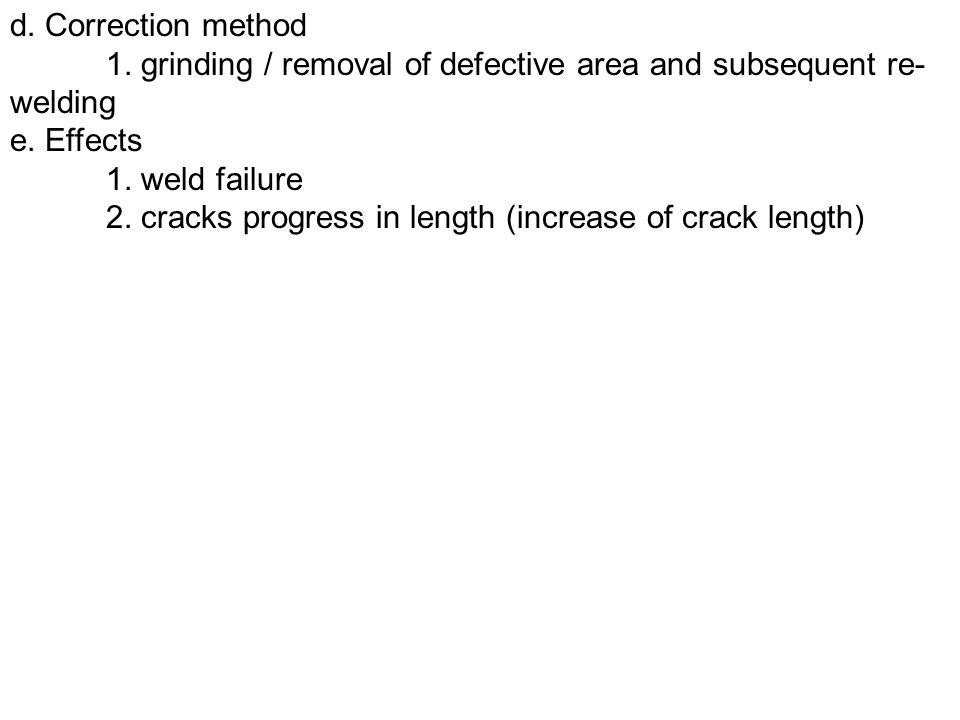 7.Cracks a.Types 1. transverse and longitudinal weld cracks 2.