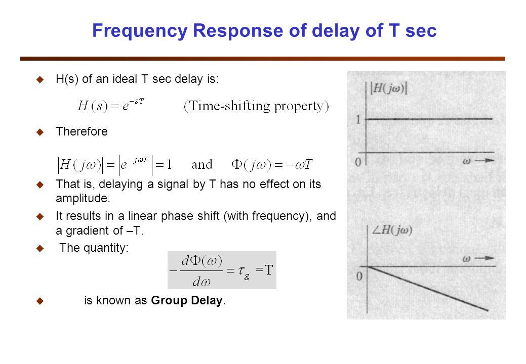 Notch Filter Example u Design a second-order notch filter to suppress 60 Hz hum in a radio receiver.