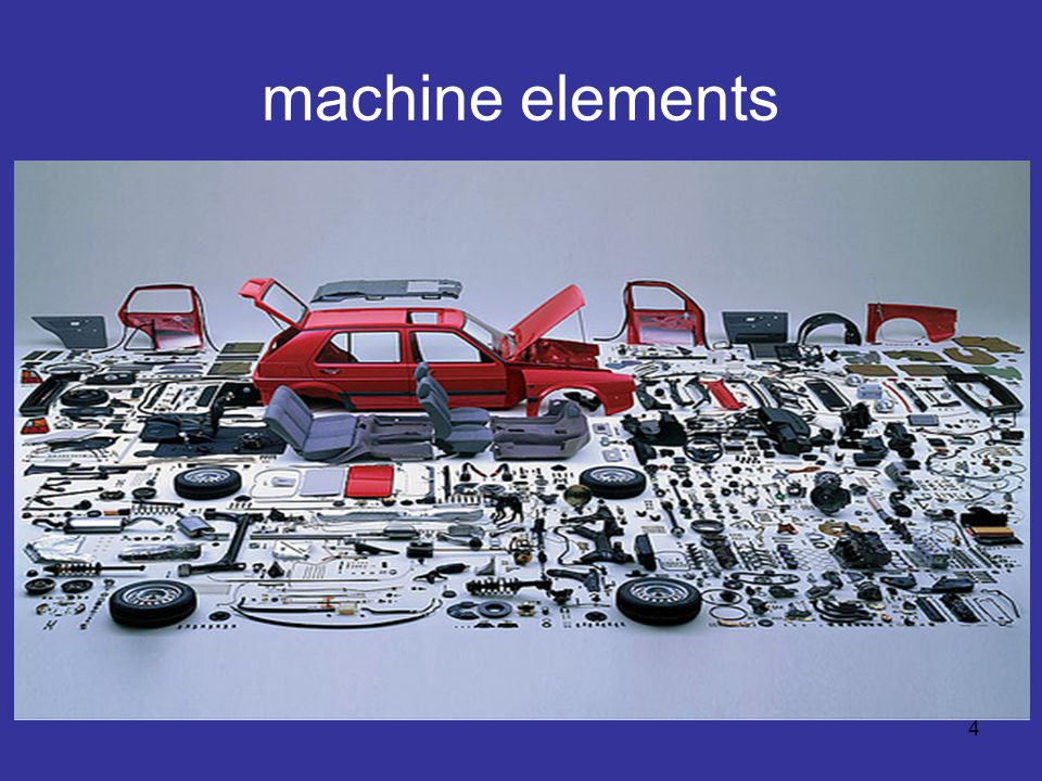 machine elements 4