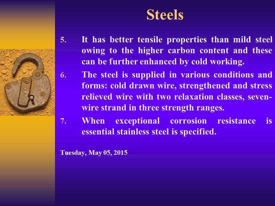 Steels 6.