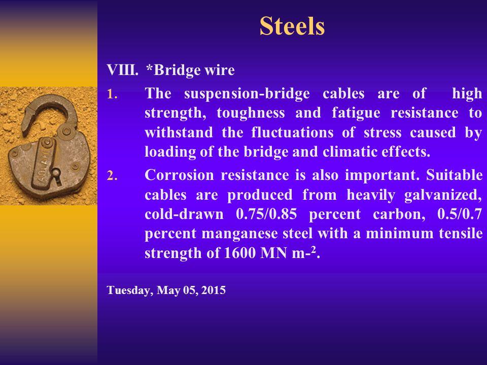 Steels 5.