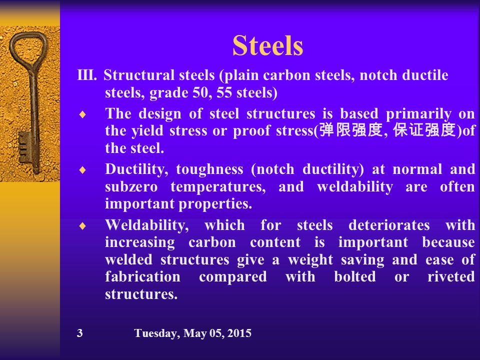 Steels II.