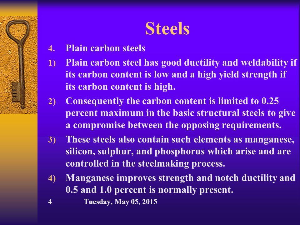 Steels III.