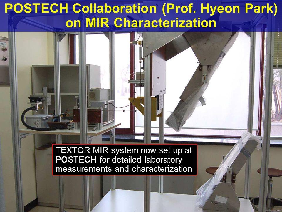 POSTECH Collaboration (Prof.