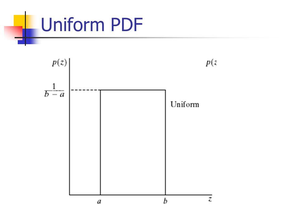 Uniform PDF