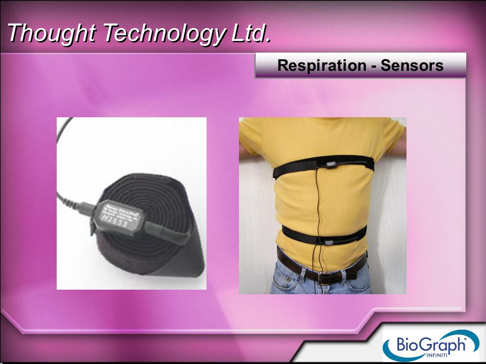 Thought Technology Ltd. Respiration - Sensors