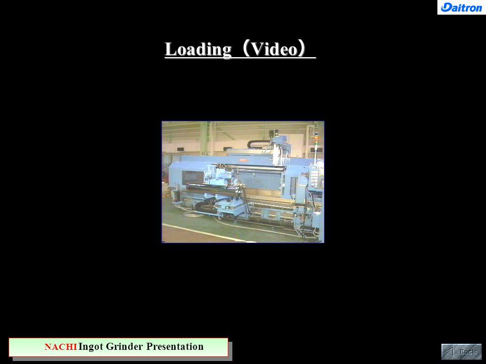 Loading ( Video ) NACHI Ingot Grinder Presentation