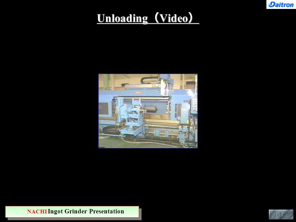 Unloading ( Video ) NACHI Ingot Grinder Presentation