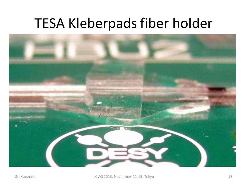 TESA Kleberpads fiber holder B Jiri KvasnickaLCWS 2013, November 11-15, Tokyo18