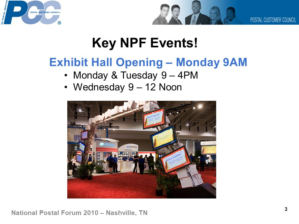 Key NPF Events.