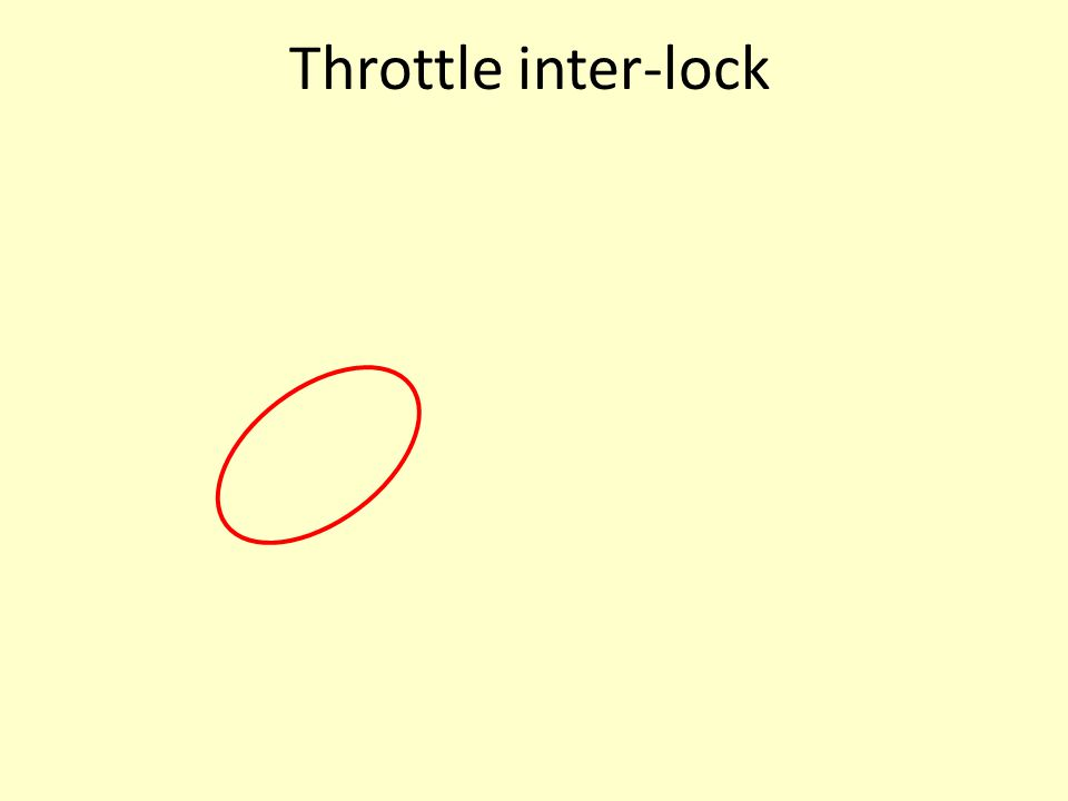 Throttle inter-lock