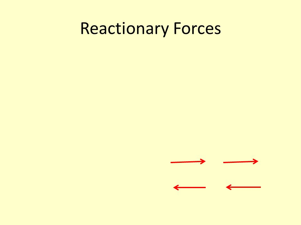 Reactionary Forces