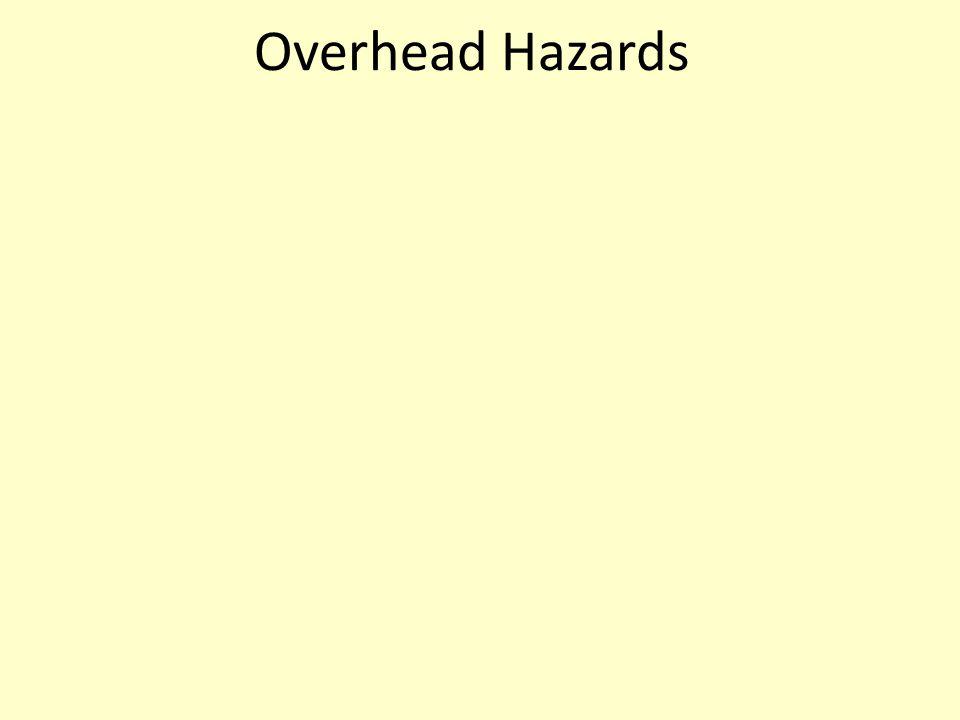Overhead Hazards