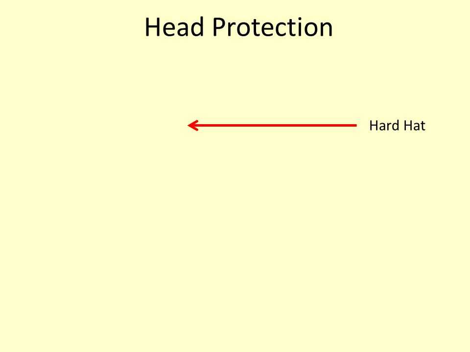 Head Protection Hard Hat