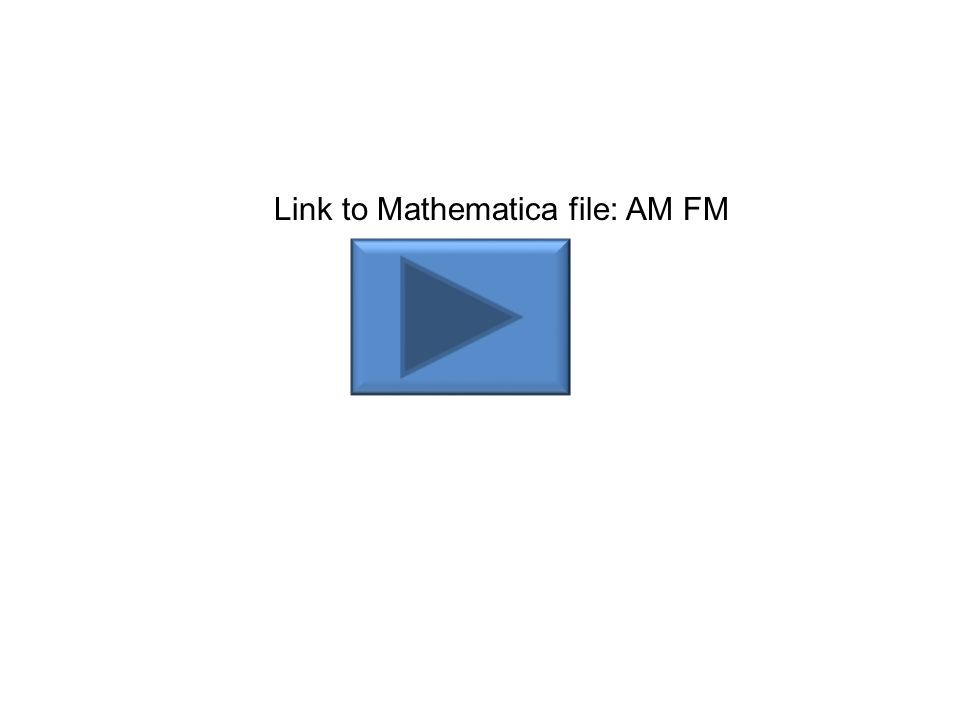 Han Q Le© Link to Mathematica file: AM FM