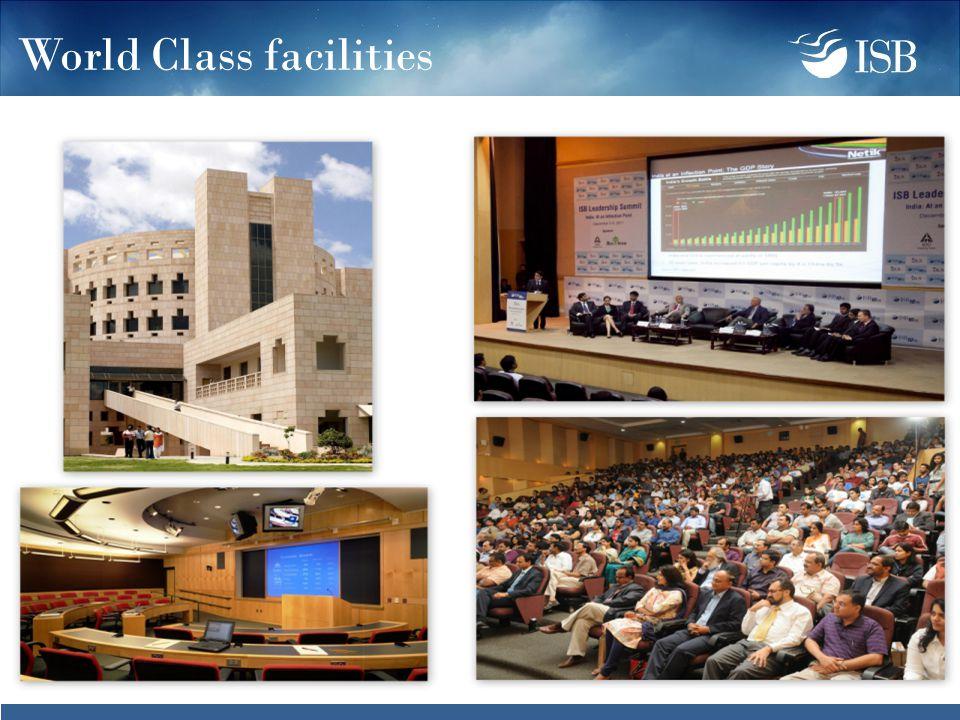 World Class facilities