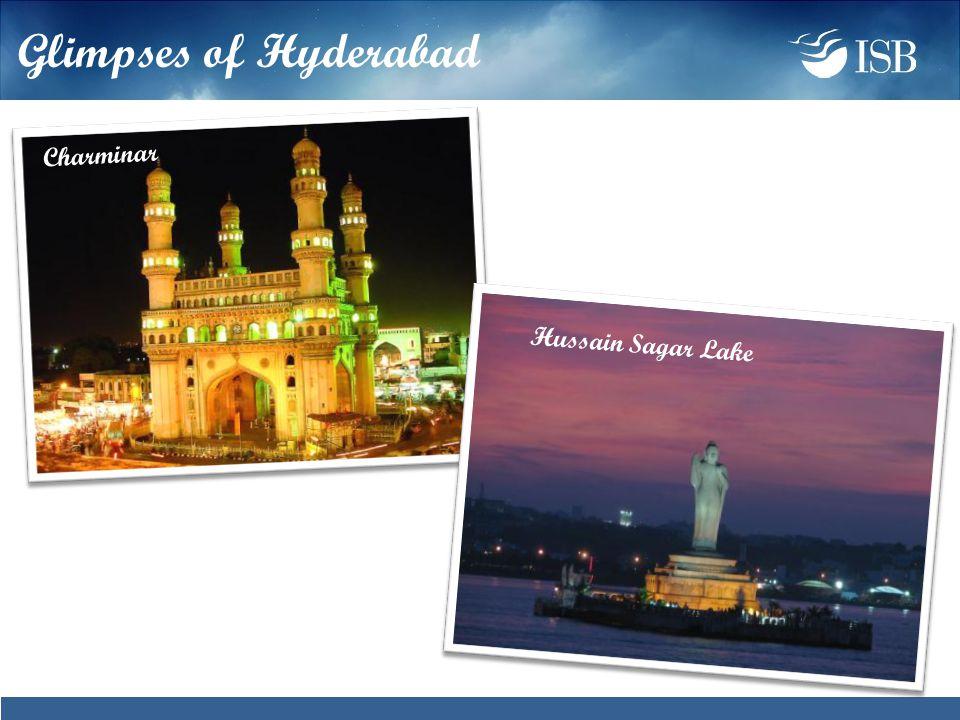 Glimpses of Hyderabad Hussain Sagar Lake Charminar