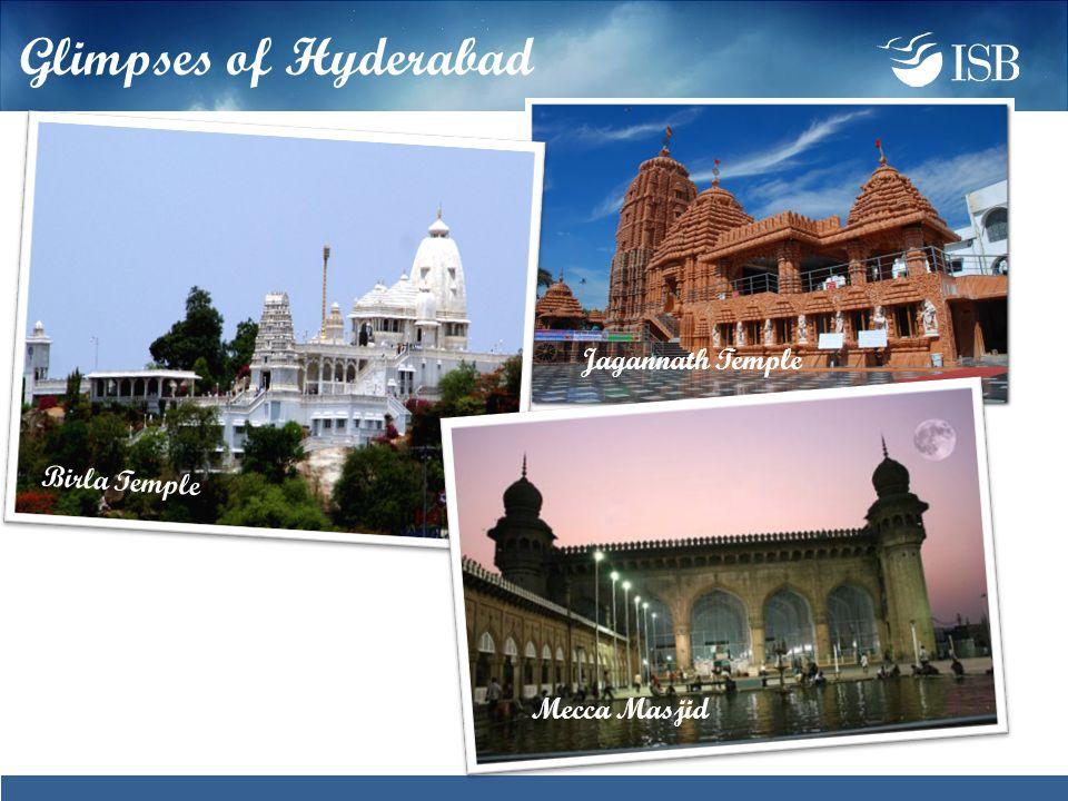 Birla Temple Mecca Masjid Jagannath Temple Glimpses of Hyderabad