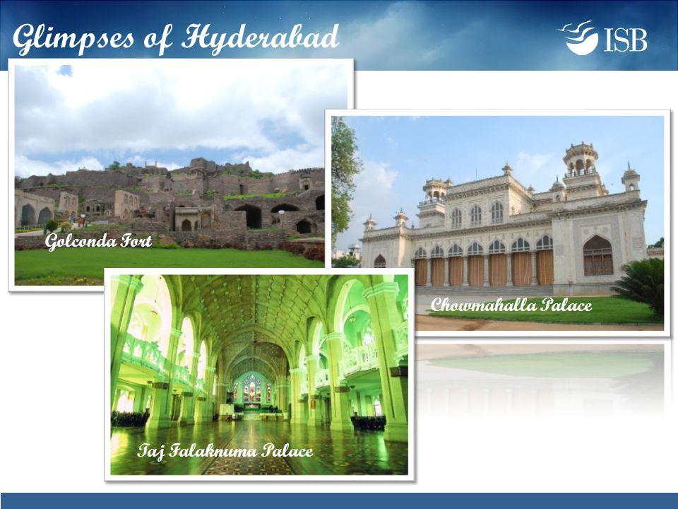 Golconda Fort Chowmahalla Palace Taj Falaknuma Palace Glimpses of Hyderabad