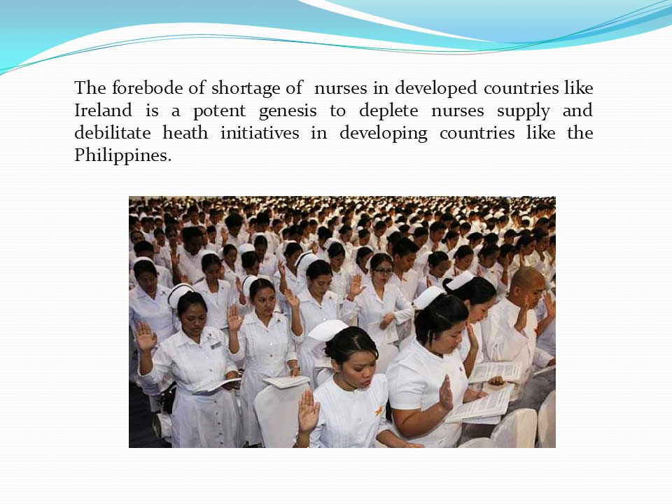 An Overview of Filipino Nurses Migration in Ireland.