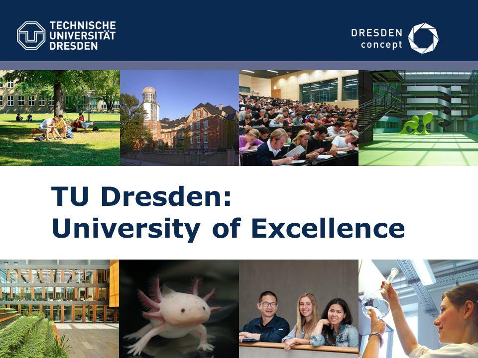 TU Dresden: University of Excellence